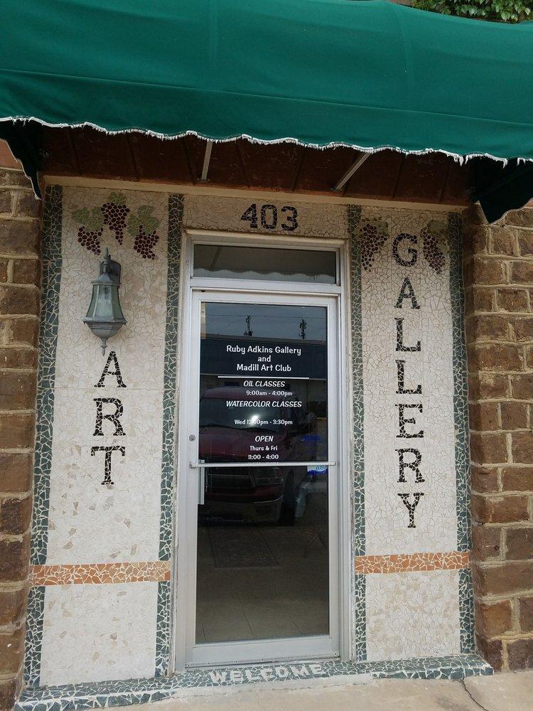 Ruby Adkins Gallery & Madill Art Club: 403 E Main St, Madill, OK