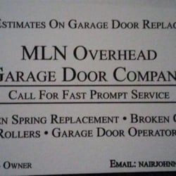 Photo Of MLN Overhead Garage Door   St.louis, MO, United States.