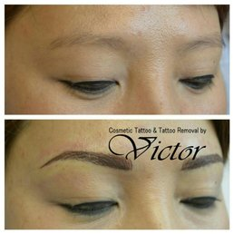 Permanent makeup tattoo removal by victor 12 photos for How to remove eyebrow tattoo at home