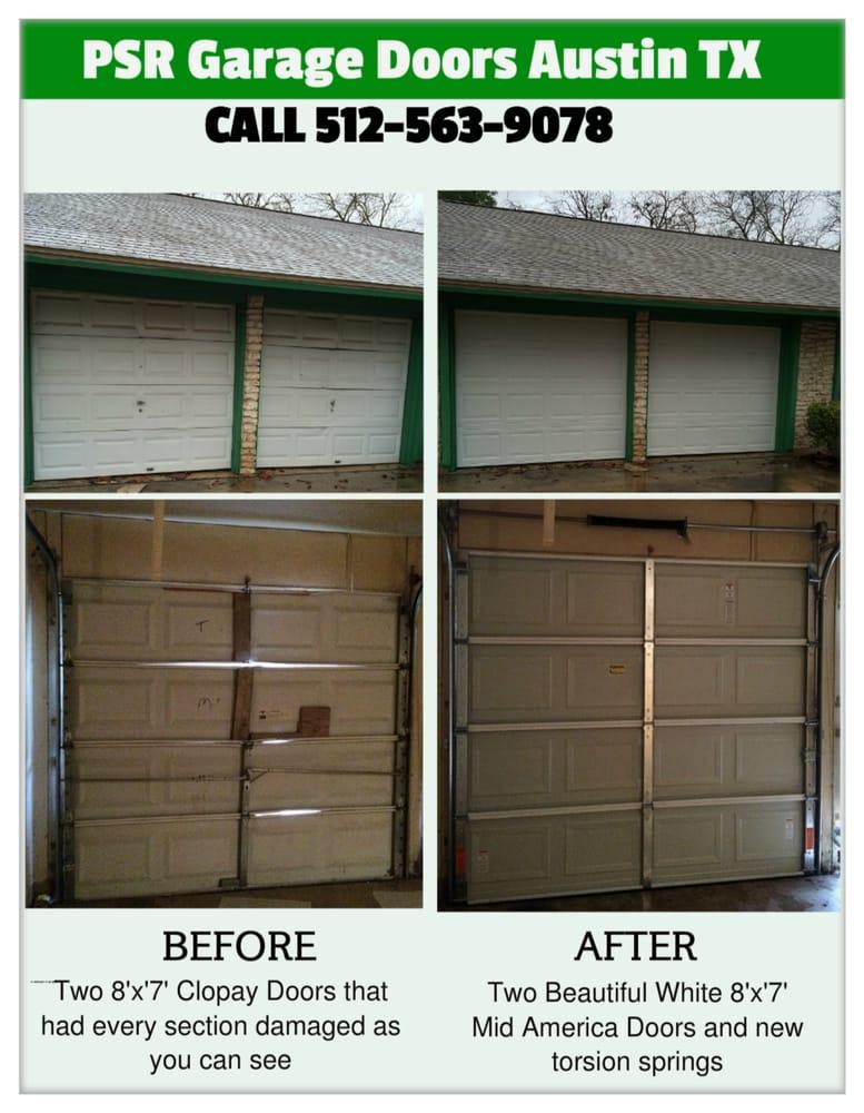 Psr garage doors 22 foto servizi per porte di garage for 2 piedi quadrati per garage