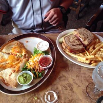 ... - Hartford, WI, United States. Quesadilla and Reuben Sandwich