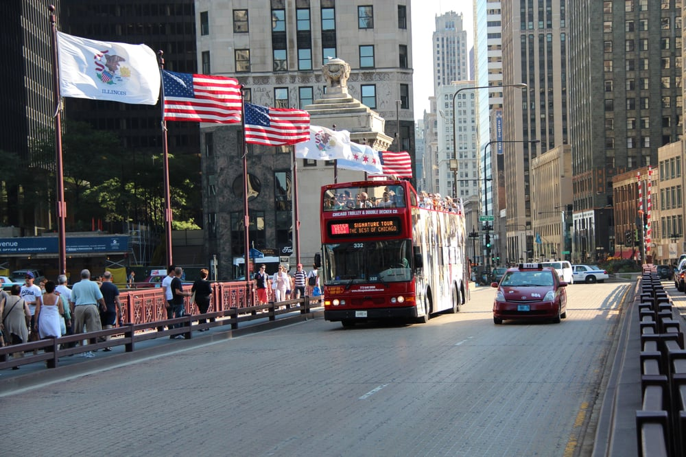 Chicago Trolley & Double Decker