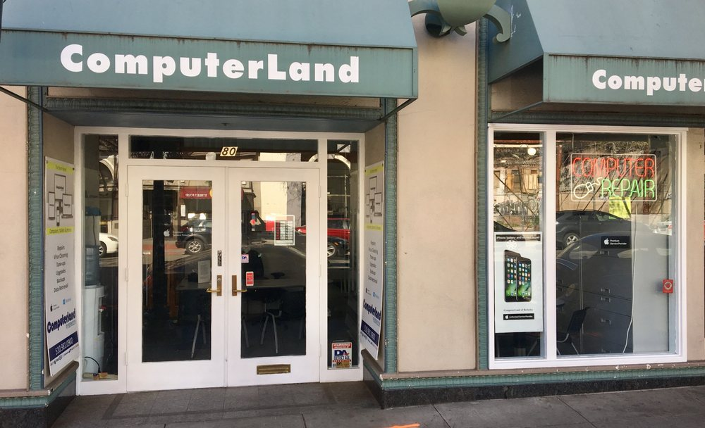Computerland of Berkeley: 80 Shattuck Sq, Berkeley, CA