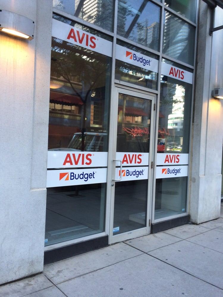 Budget Car Rental Blue Jays Way Toronto