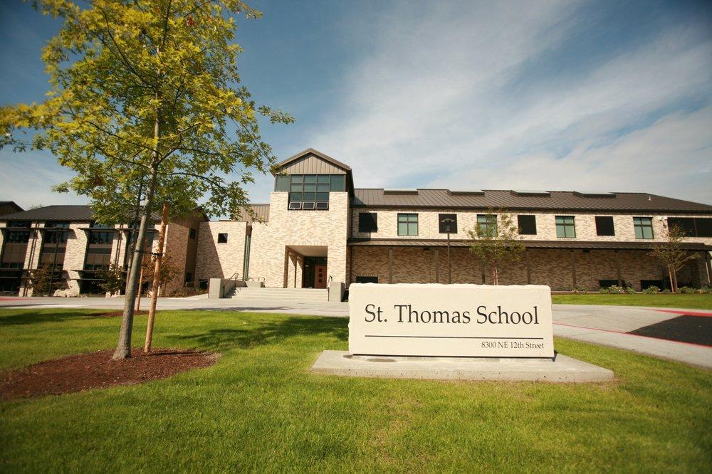 St. Thomas School: 8300 NE 12th St, Medina, WA