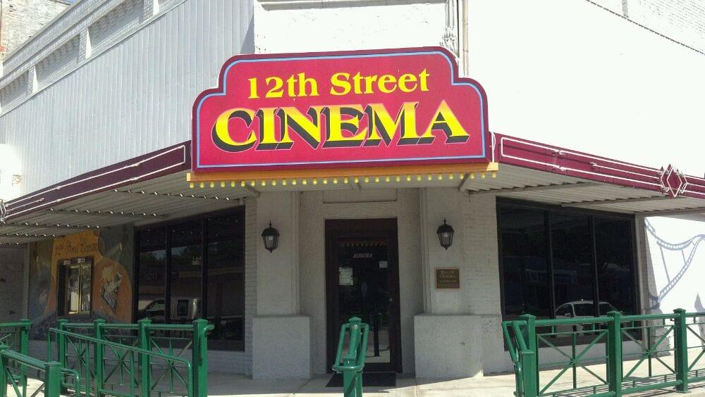 12th St Cinema: 1121 M St, Aurora, NE
