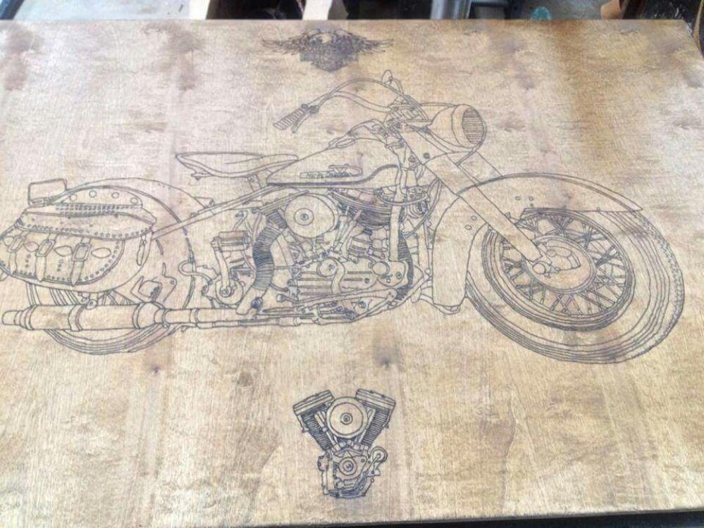Wooden Signs & Concrete Designs
