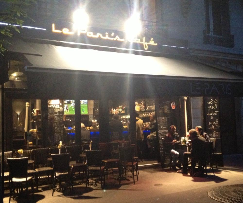 le pari s caf cocktail bars 104 rue caulaincourt. Black Bedroom Furniture Sets. Home Design Ideas