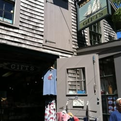 Photo of Four Winds Gifts - Nantucket, MA, United States. Outside the shop