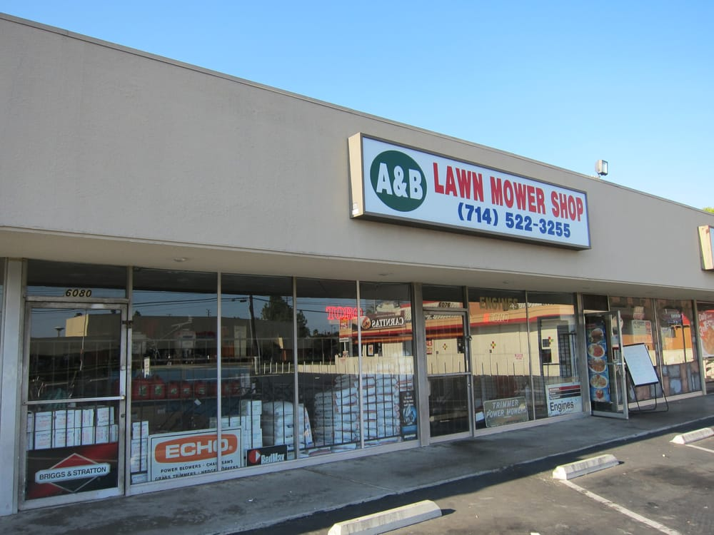 A & B Lawnmower Shop: 6076 Orangethorpe Ave, Buena Park, CA