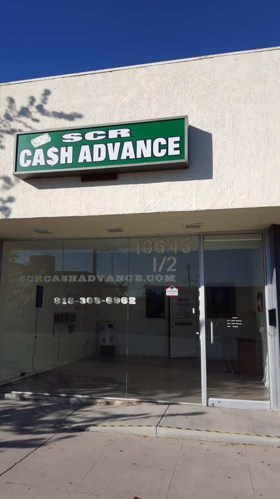 SCR Cash Advance