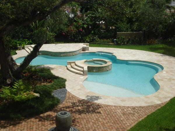 Custom Pool Copings Pool Mosaics And Waterline Tile Yelp