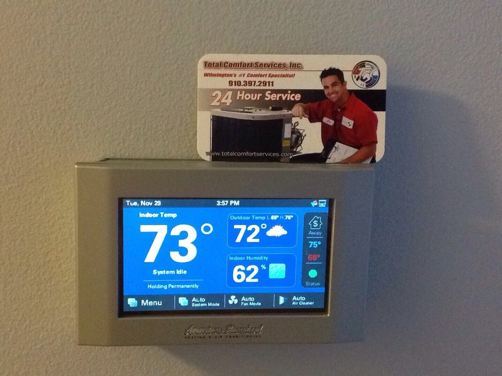 Total Comfort Services Heating and Air Conditioning: 422 Highgreen Dr, Wilmington, NC