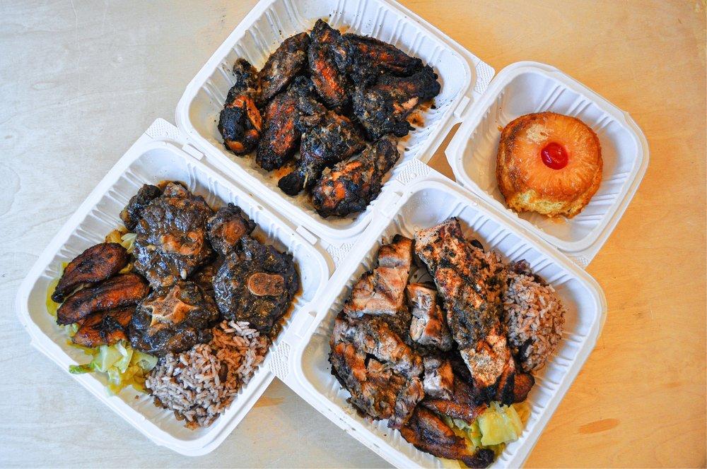 Flavas Jamaican Grill: 314 Linden Ave, South San Francisco, CA