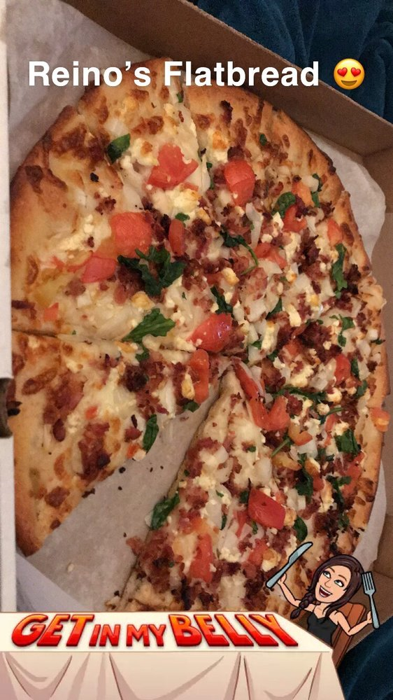 Food from Reino's Pizza & Pasta