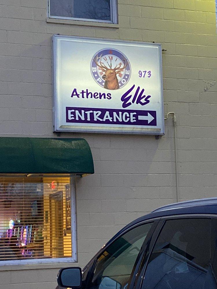 Elks Lodge: 600 W Union St, Athens, OH