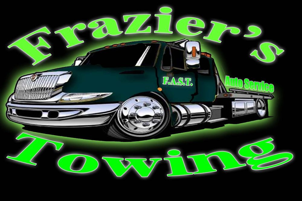 Frazier's Auto Service Towing Get Quote Towing 60 Van Born Magnificent Towing Quote