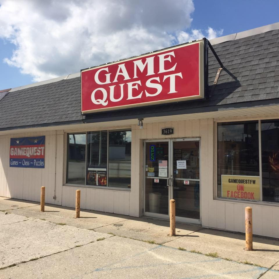 GameQuest: 3619 N Clinton St, Fort Wayne, IN