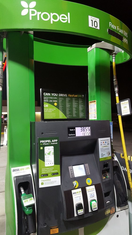E85 Gas Stations Near Me >> Propel Fuels Gas Stations 6819 Carson St Lakewood Ca