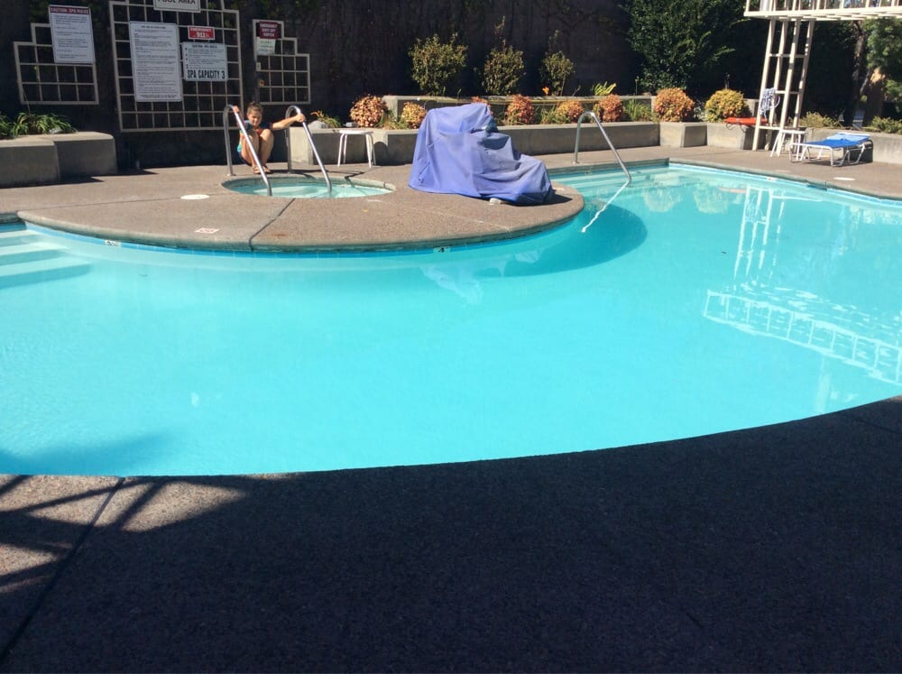 Pool is tiny spa holds max 3 yelp for 13 salon walnut creek