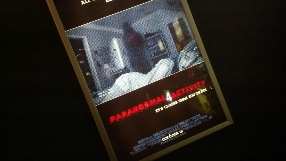 Just saw Paranormal Activity 4 in IMAX I was really