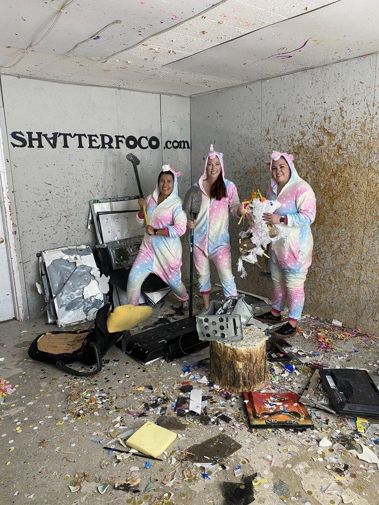Shatter Rage Room: 101 E Stuart St, Fort Collins, CO