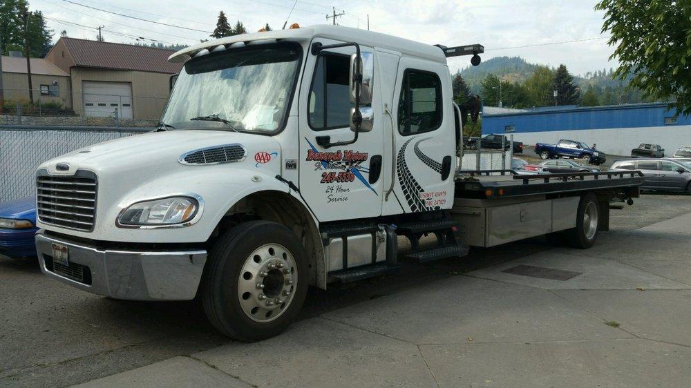 Benewah Motors Towing and Repair: 1001 Main Ave, Saint Maries, ID