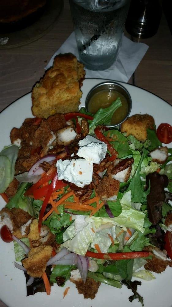 Photo of KD's - Oklahoma City, OK, United States. Southern fried chicken salad.