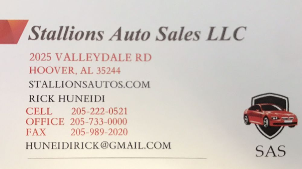 Stallion Auto Sales >> Feel Free To Reach Me Anytime Of The Day Yelp