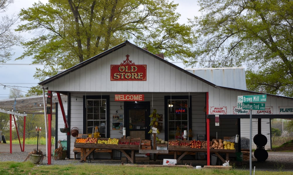 Old Store Produce: 14720 Brown Mill Rd, Huntersville, NC