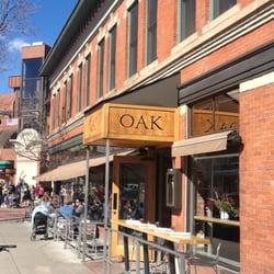 Oak Restaurant Pearl St Boulder