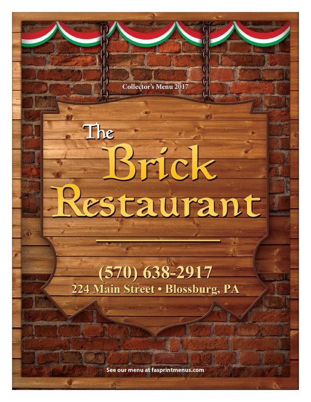 The Brick Tavern: 224 Main St, Blossburg, PA