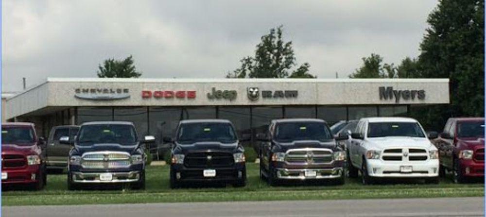 Myers Chrysler Dodge Jeep Ram: 1111 Castalia St, Bellevue, OH