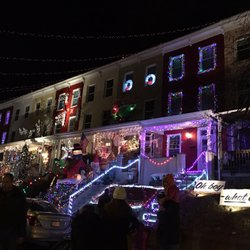 photo of hampden christmas street holiday show baltimore md united states - Baltimore 34th Street Christmas Lights
