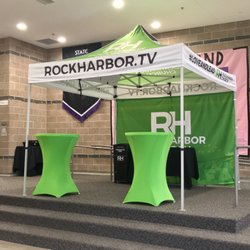 Photo of Rockharbor Church - Meridian ID United States. Welcome tent in the & Rockharbor Church - Churches - 5450 N Linder Rd Meridian ID ...