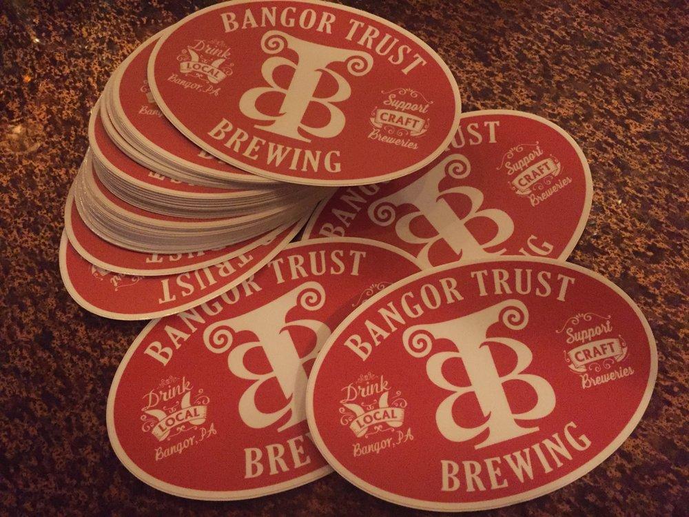 Bangor Trust Brewing: 50 Broadway, Bangor, PA