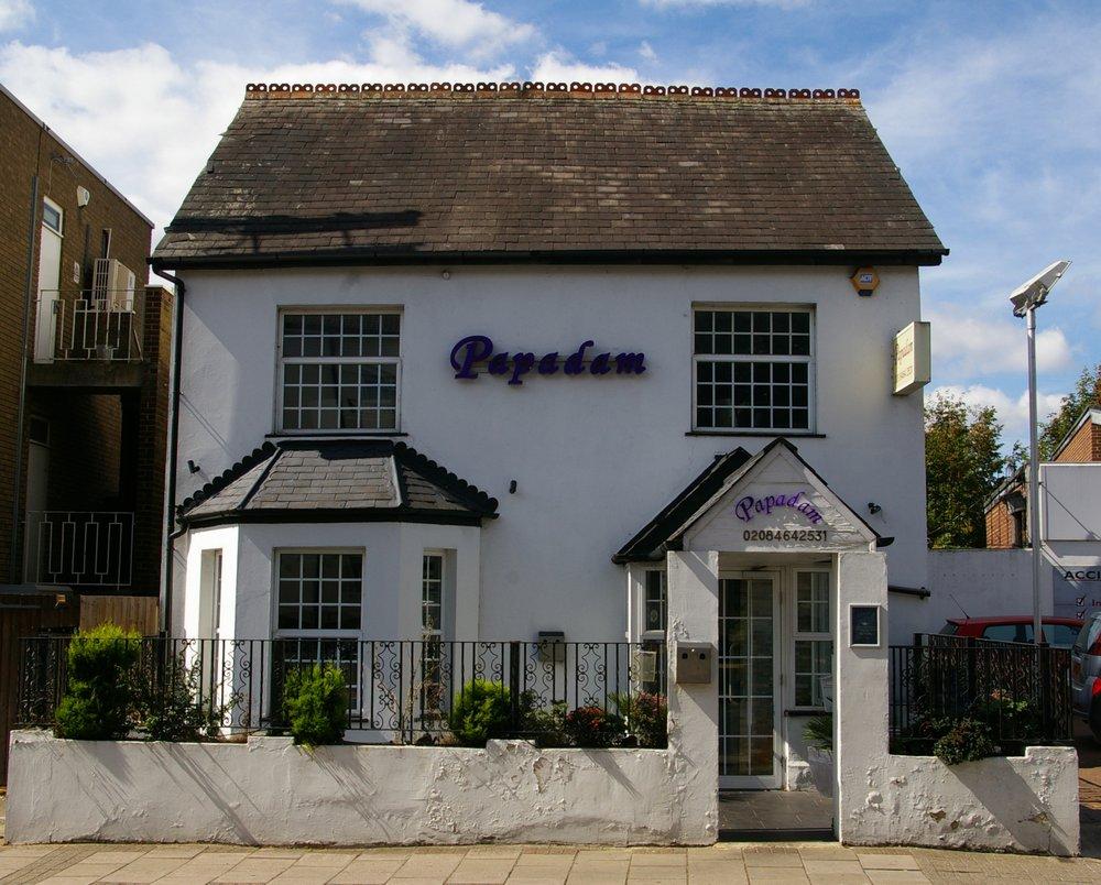 Papadam Indian Restaurant In Tylney Road