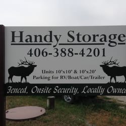 Photo Of Handy Storage   Belgrade, MT, United States. We Are Located At