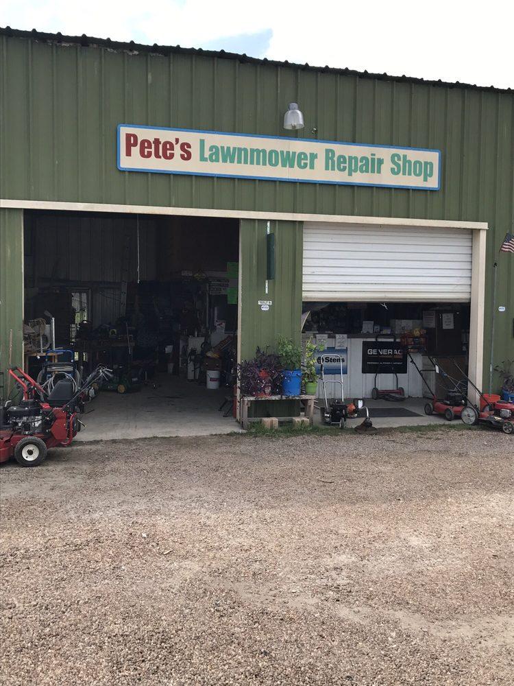 Pete's Lawnmower Repair: 10811 Clodine Rd, Richmond, TX