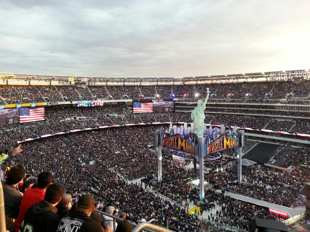 Wrestlemania Xxix At The Metlife Baby Yelp