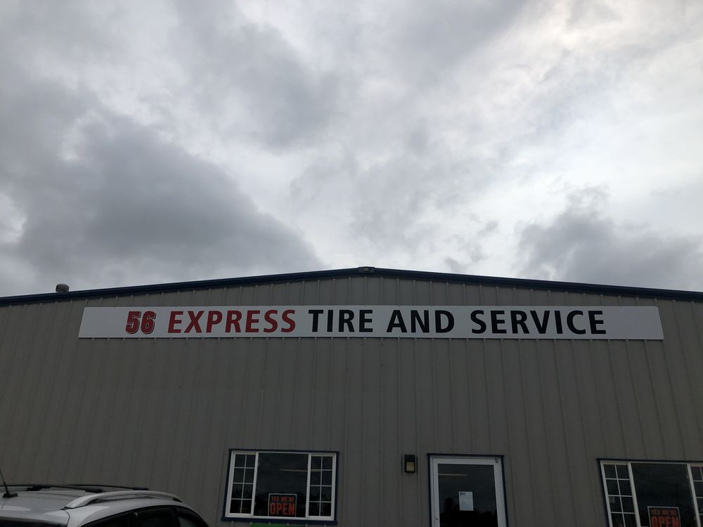 56 Express Tire & Service: 1001 Batt St, Marion, KS