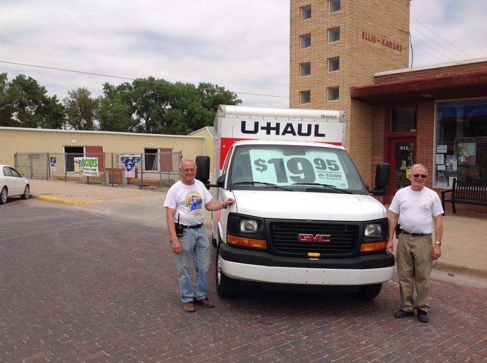 U-Haul Neighborhood Dealer: 915 Washington St, Ellis, KS