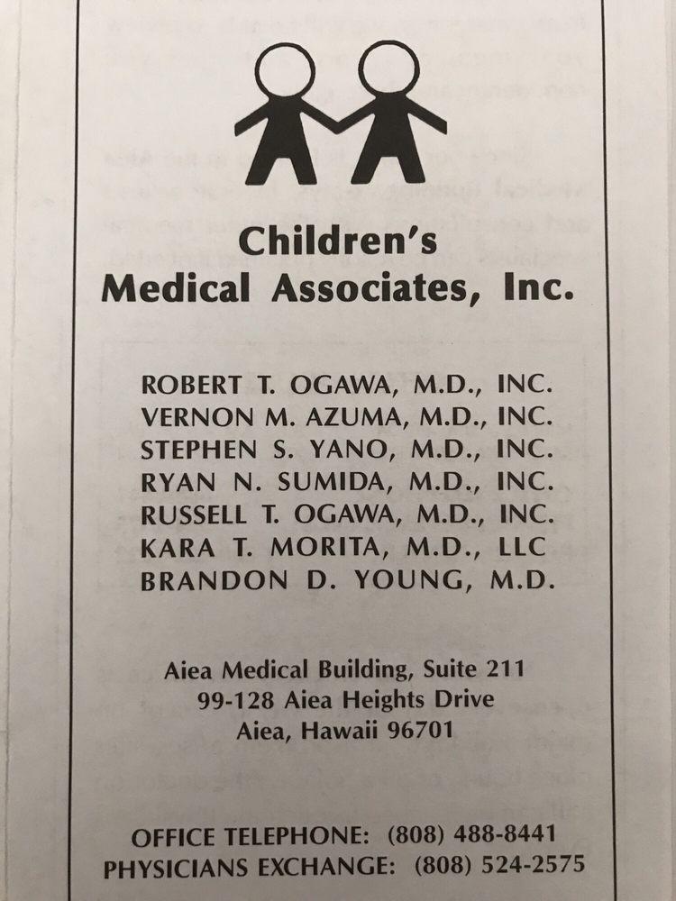 Children's Medical Associates: 99-128 Aiea Heights Dr, Aiea, HI