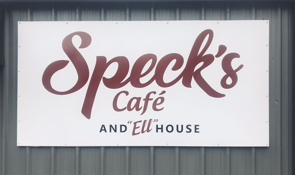 Speck's cafe and Ell House: 610 Breazeale St, Belton, SC