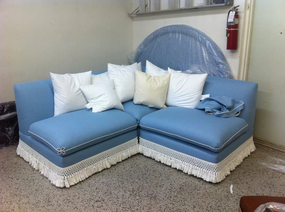 Delray upholstery company furniture reupholstery 143 for Furniture upholstery near me