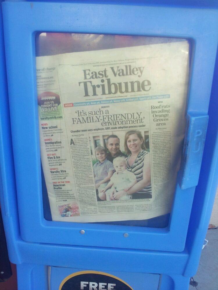 The East Valley Tribune