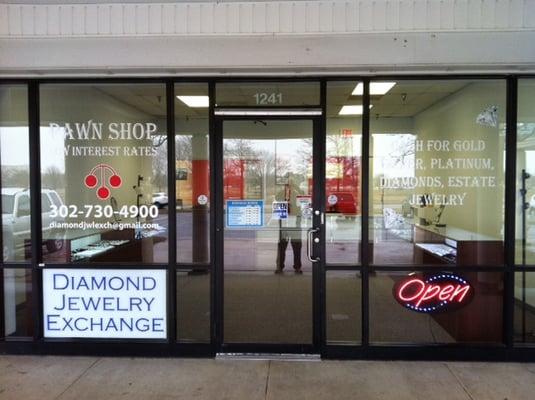 diamond jewelry exchange pawn shops 1241 n dupont hwy