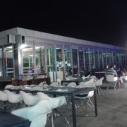 tiras de pollo photo of terraza aeroclub chillout madrid spain la zona del parque de bolas