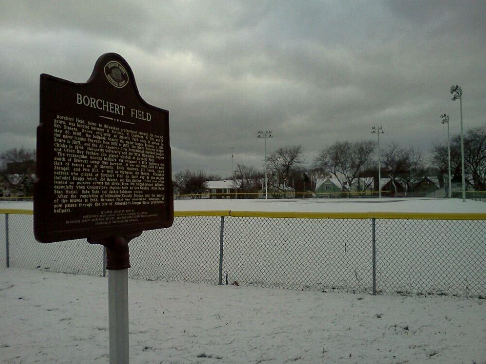 Borchert Field Milwaukee Bears Historical Marker