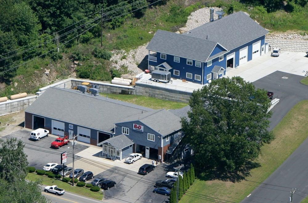 B & D Auto Body & Sales: 91 Route 163, Montville, CT